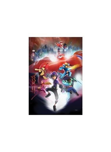 Disney 6 Süper Kahraman 50x70 cm Kanvas Tablo Renkli